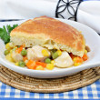 Chicken Pot Pie — Stock Photo #2706036