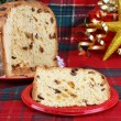 ItaliPanettone Christmas Cake — Stock Photo #2706049