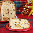 Italian Panettone Christmas Cake — Stock Photo #2706049