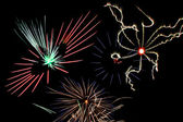 Fourth of July Fireworks Finale — Stock Photo