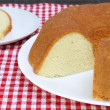 Stock Photo: Plain Pound Cake