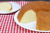 Plain Pound Cake — Stock Photo