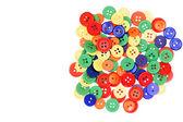 Různé barevné tlačítka — Stock fotografie