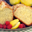 Lemon Poppyseed Pound Cake — Stock Photo #2822038