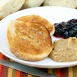 English muffin - Lizenzfreies Foto