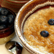 Nutritious oatmeal - Stock Photo