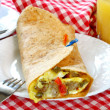 Stock Photo: Breakfast burrito
