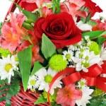 Beautiful Basket of Assorted Flowers — Stock Photo #2823383