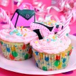 Pretty Pink Party Cupcakes — Stock Photo #2845235