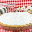 Stock Photo: Whipped Cream Pie