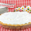Whipped Cream Pie - Stock Photo