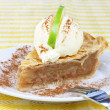 Apple Pie and Ice Cream — Stock Photo #2845406