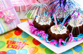 Partito mini torte bundt — Foto Stock