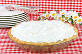 Whipped Cream Pie — Stock Photo