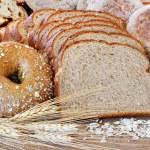 Assortedwhole grain breads — Stock Photo
