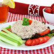 Tuna salad meal — Stock Photo