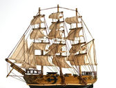 Souvenir copy of a sailing ship to sail — Стоковое фото