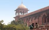 India, Delhi, Mechet Dzhama Mesdzhid — Stock Photo