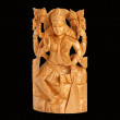 Wooden figure of God, a souvenir gift - Foto de Stock