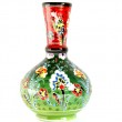 Vase with traditional oriental patterns — Stock Photo