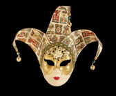 Traditional carnival Venice mask — Стоковое фото
