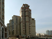 High residential building, Moscow — Stock Photo