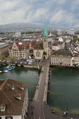 Switzerland, Zurich, view of the city — Stock Photo
