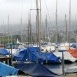 Stock Photo: Yachts and boats in port city