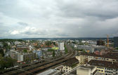 Vista de suiza, zurich, de la ciudad — Foto de Stock