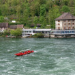 Stock Photo: Waterfall Rhine Falls (Rheinfall)