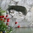 Royalty-Free Stock Photo: Lucerne, Switzerland, Lion Monument