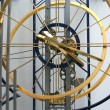 Clocks with the world's largest pendulum length of 30,2 m — Stock Photo
