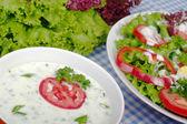 Yoghurt Salad Dressing — Stock Photo