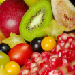 Exotic Fruits on Wooden Board — Stock Photo #2897469