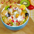 Fruits and Cereals with Joghurt — Stock Photo #2930703