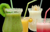 Different Smoothies — Stock Photo