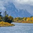 Stock Photo: Oxbow Bend Grand Tetons