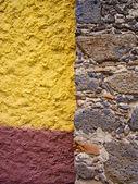 Ściany z kamienia — Zdjęcie stockowe