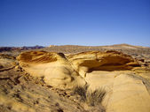 Sandstone Outcroppings — Stock Photo