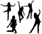 Female Dancers — Stock Photo