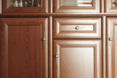 Brown cupboard — Stock Photo