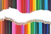Coloured pencils — Stockfoto