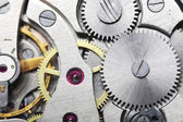 Old watch gears close up — Stock Photo