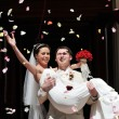 Newly wed couple — Stockfoto