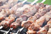 Meat slices — Stock Photo