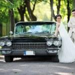 Sposa e sposo — Foto Stock