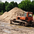 Stock Photo: Bulldozer works