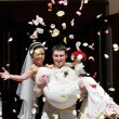 Foto Stock: Newly wed couple