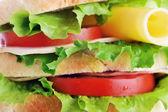 Fresh and tasty sandwich — Stock Photo