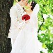 Groom and bride — Stock Photo #3612746